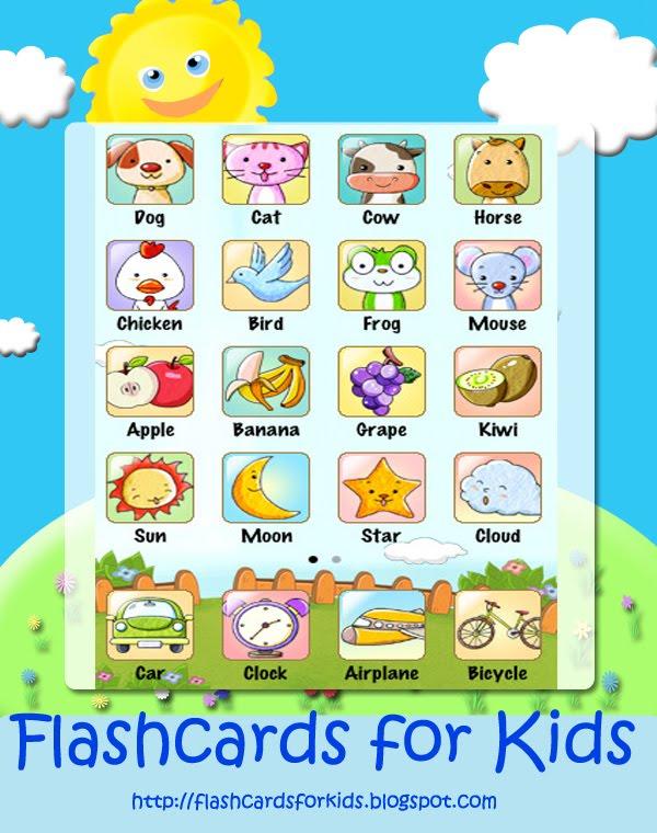 flash card games for kids online