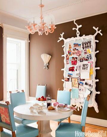 salas de jantar com mesa redonda