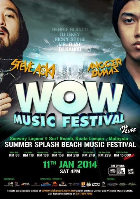Let's Join THE WOW SUMMER SPLASH BEACH FESTIVAL 2014