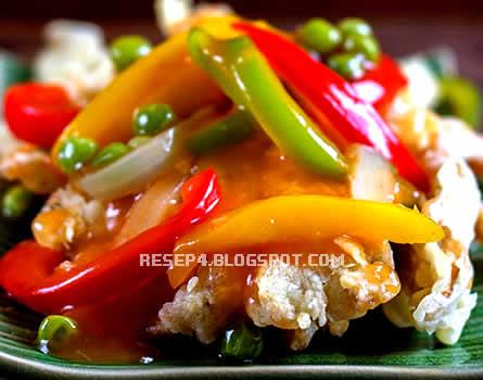Resep Ayam Goreng Asam Manis