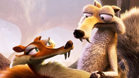 Buck and Sid in Ice Age: Dawn of the Dinosaurs 2009 animatefilmreviews.filminspector.com