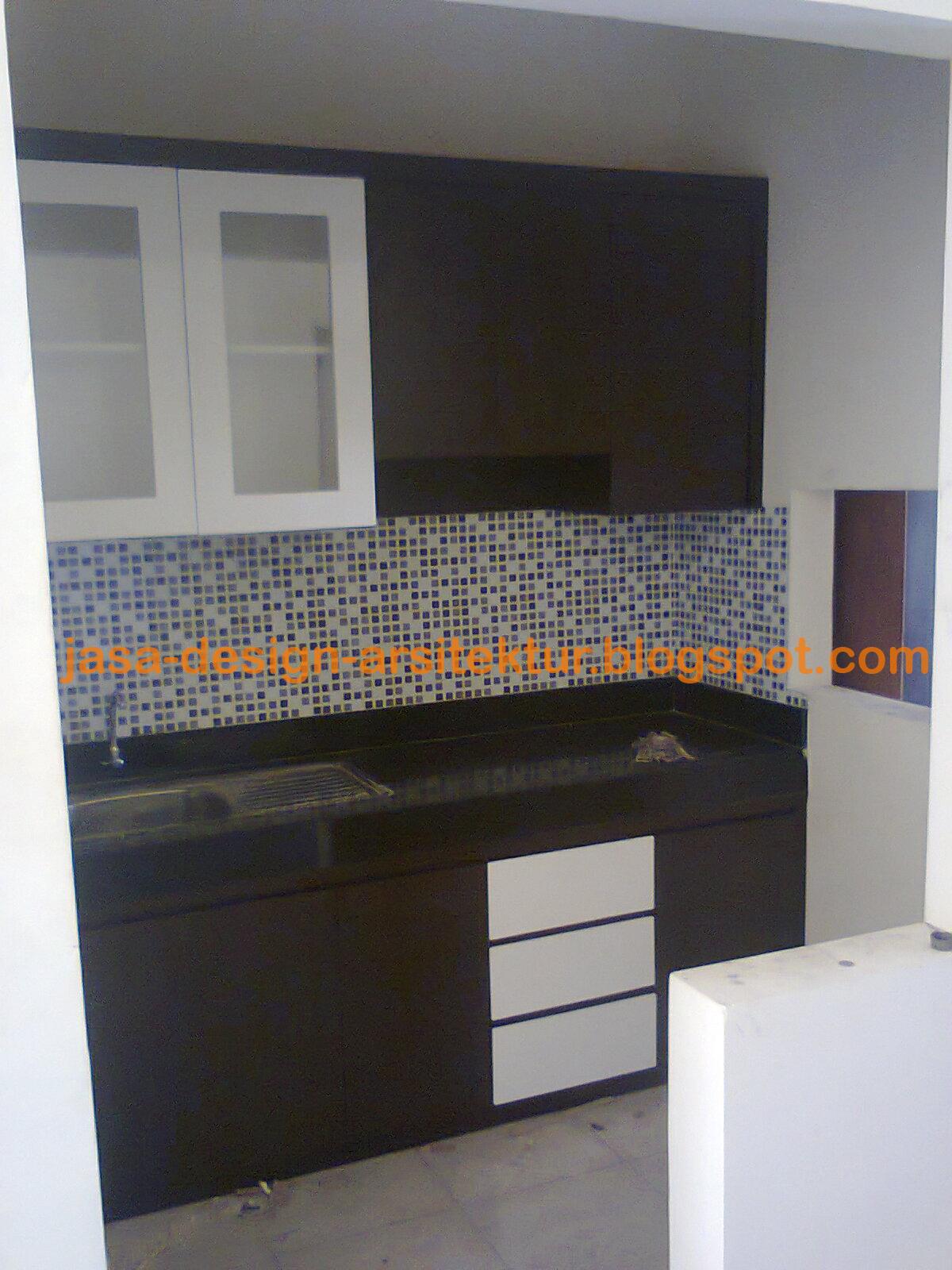 Kontraktor interior surabaya sidoarjo contoh pekerjaan for Cara bikin kitchen set