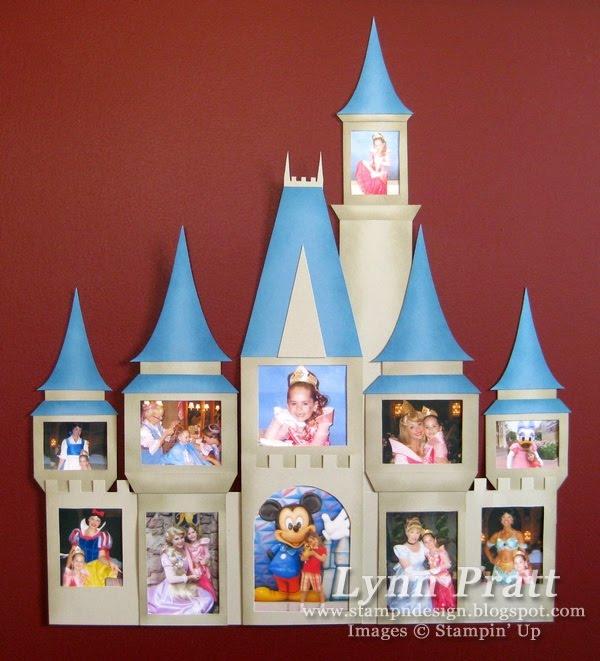 castle frame after my trip to disney world - Disney World Picture Frames