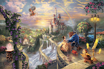 Thomas Kinkade Disney Paintings