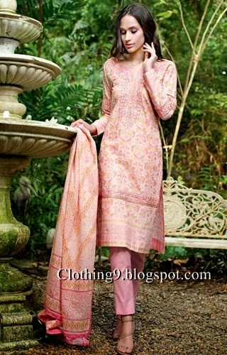 Gul Ahmed Embroidered Collection 2015