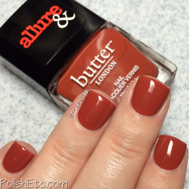 butterLONDON & Allure - Arm Candy Collection - McPolish - It's Vintage