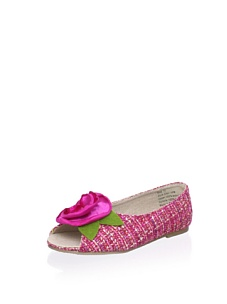 MyHabit: Save Up to 60% off Joyfolie Shoes for Girls: Charlotte Tweed Flat