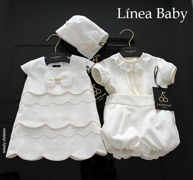 línea colección baby sanmar 1968 moda infantil española