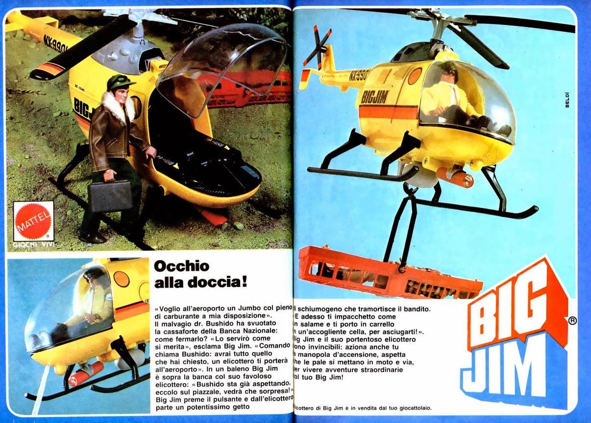 Elicottero Big Jim Anni 80 : Le pubblicità fuorvianti di topolino stagione iv parte