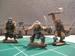 Barbarians painted by me in the late 1980's!