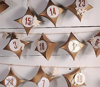 où acheter un calendrier de l'avent craftie, calendriers de l'avent handmade