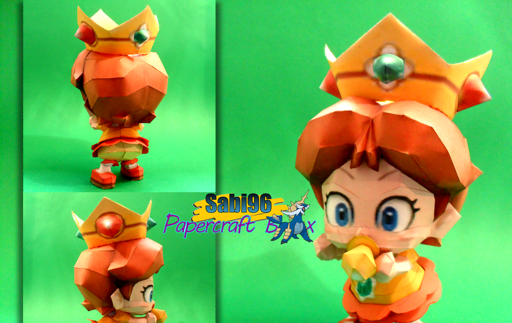 sabi96 papercraft box easter special pt1 baby daisy