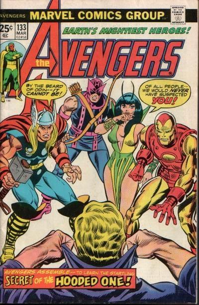 Avengers #133, the Celestial Madonna Saga