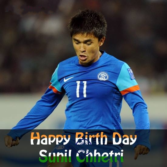 Happy Birthday Sunil Chhetri