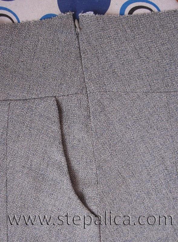 Šivenje Zlata suknje: #10 prišivanje nevidljivog rajsferšlusa