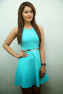 Actress Rashi Khanna  Pictures in Short Dress at Jil Trailer Launch 19.jpg