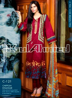 Gul Ahmed Winter Dresses Vol-2