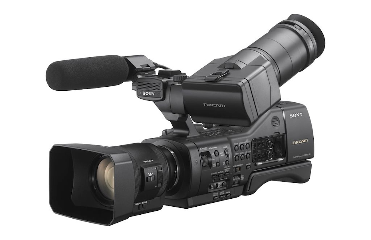 Urbanfox tv blog sony nex ea50 nxcam camcorder - Tv in camera ...