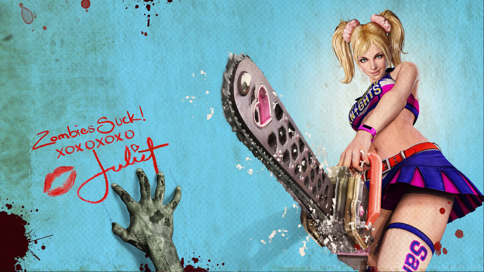 Wallpapers Lollipop Chainsaw Zombie Chainsaw Games