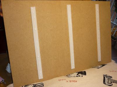 tablón velcro cojín portátil modistilla de pacotilla