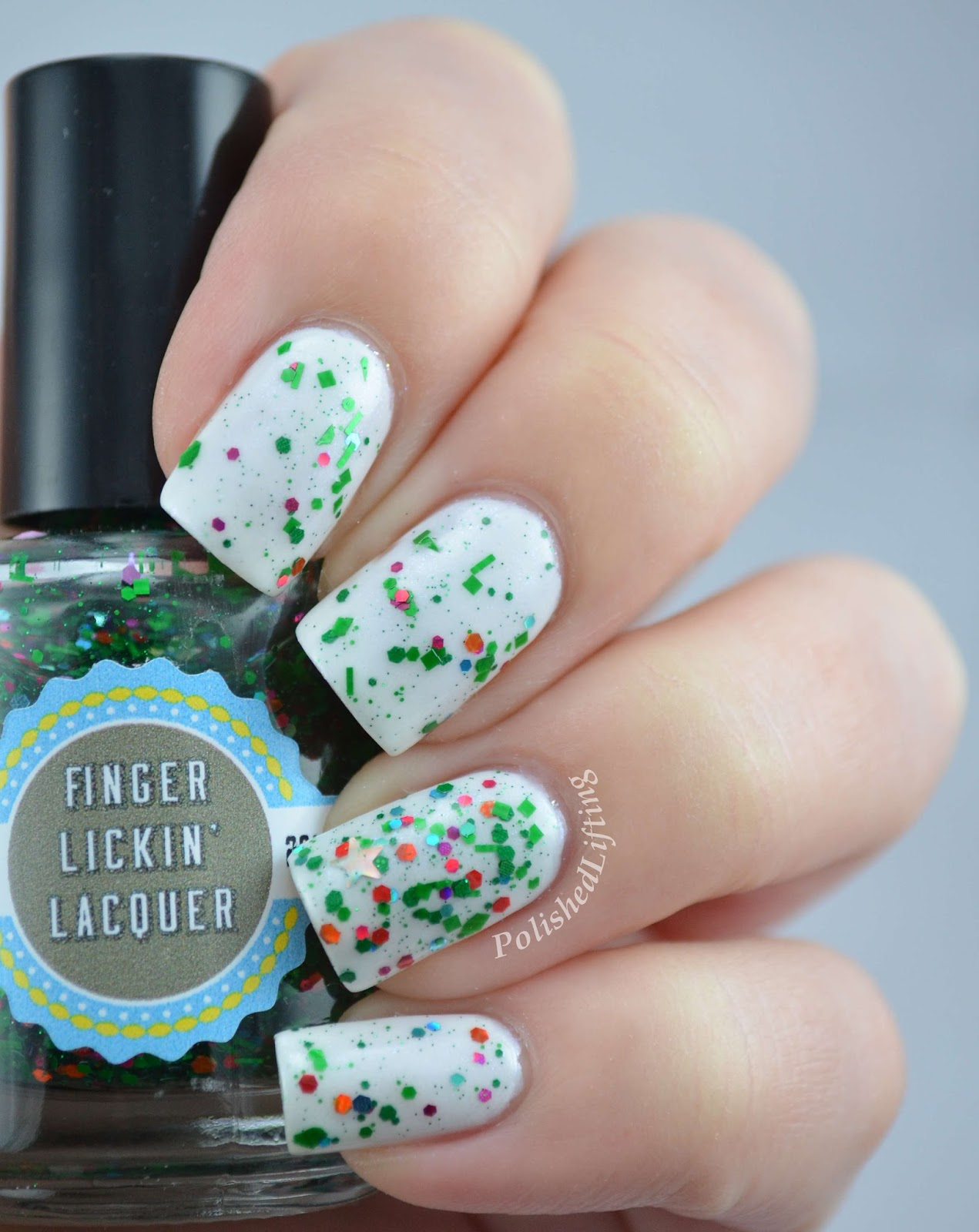 Finger Lickin' Lacquer Tree Trimmings