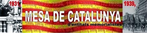 En la Web de la Mesa de Catalunya d'Entitats Memorialistes