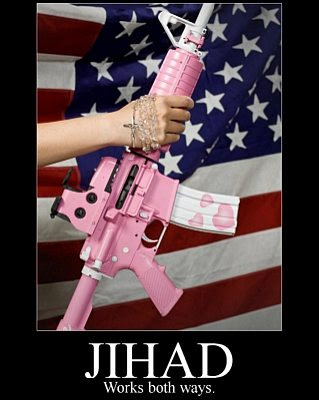 Jihad works both ways.