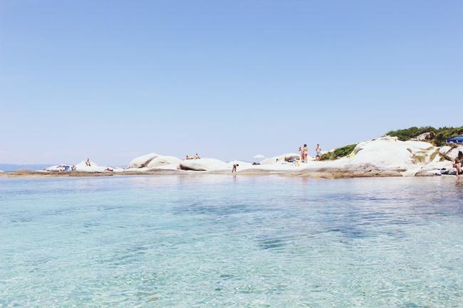 Portokali (Orange) beach in Sithonia.Portokali plaza na Sitoniji.Sarti beaches.Sarti plaze.Best and most famous beaches in Sithonia.Najlepse i najpoznatije plaze Sitonije.Kavourotripes.