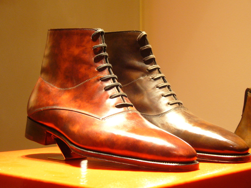 The Shoe Aristocat John Lobb S Shoes In Museum Calf Hide