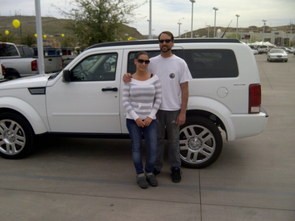 Stephen Wade Cadillac >> Stephen Wade Delivery Lane: The Davenports really love their new Nitro!