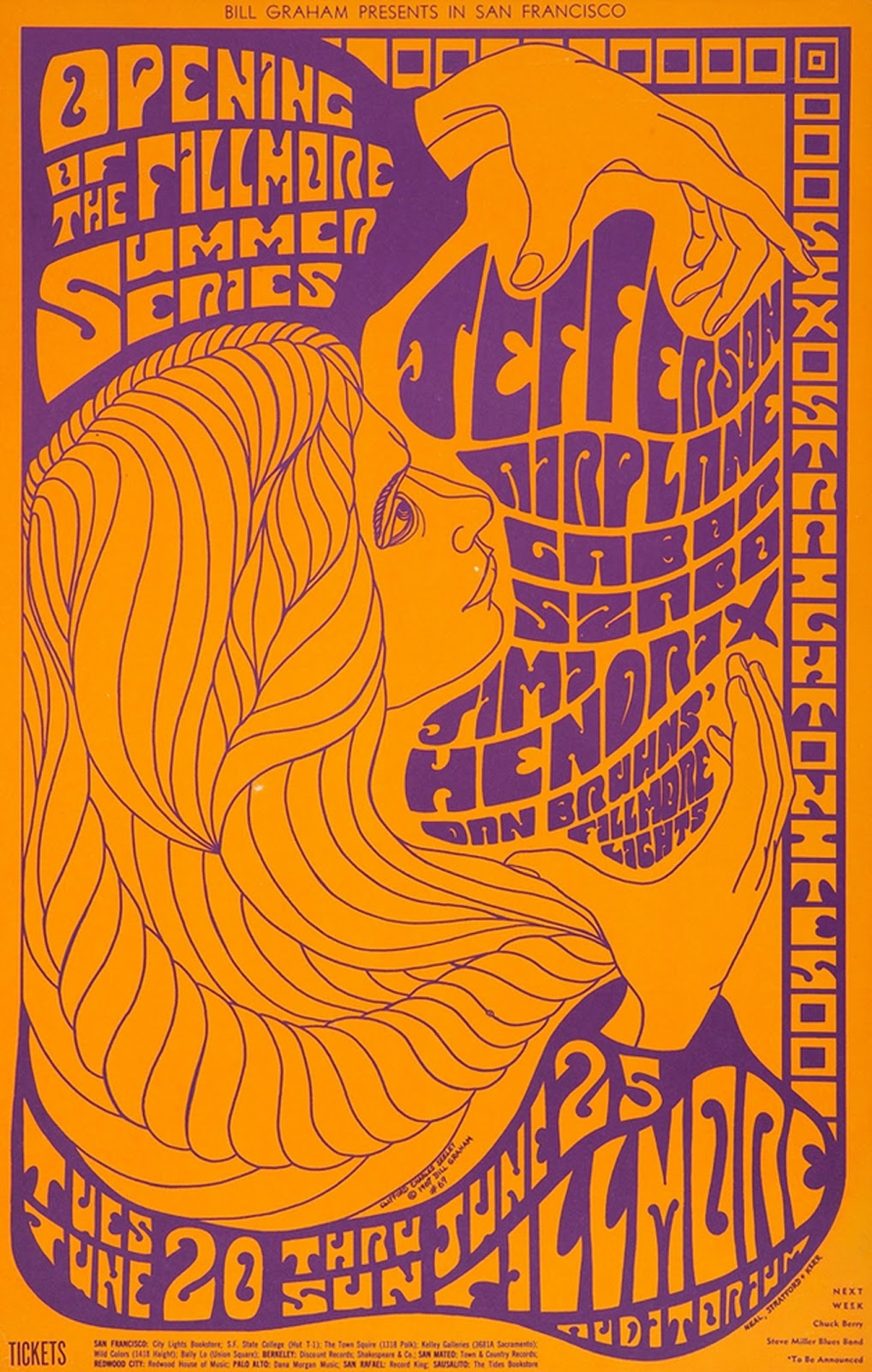 20 classic vintage psychedelic rock posters from the 60sForPoster Psichedelici