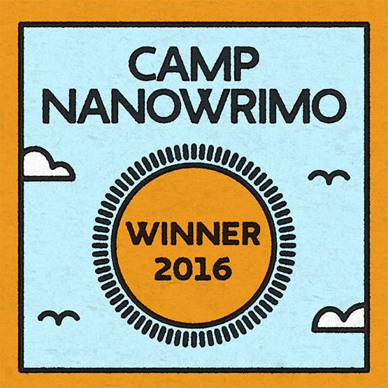 Camp NaNo 2016 Winner!