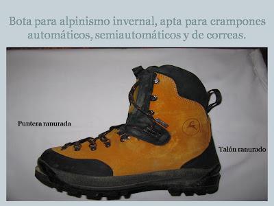 botas de montaña,alpinisno,seguridad y montaña,escalada en hielo