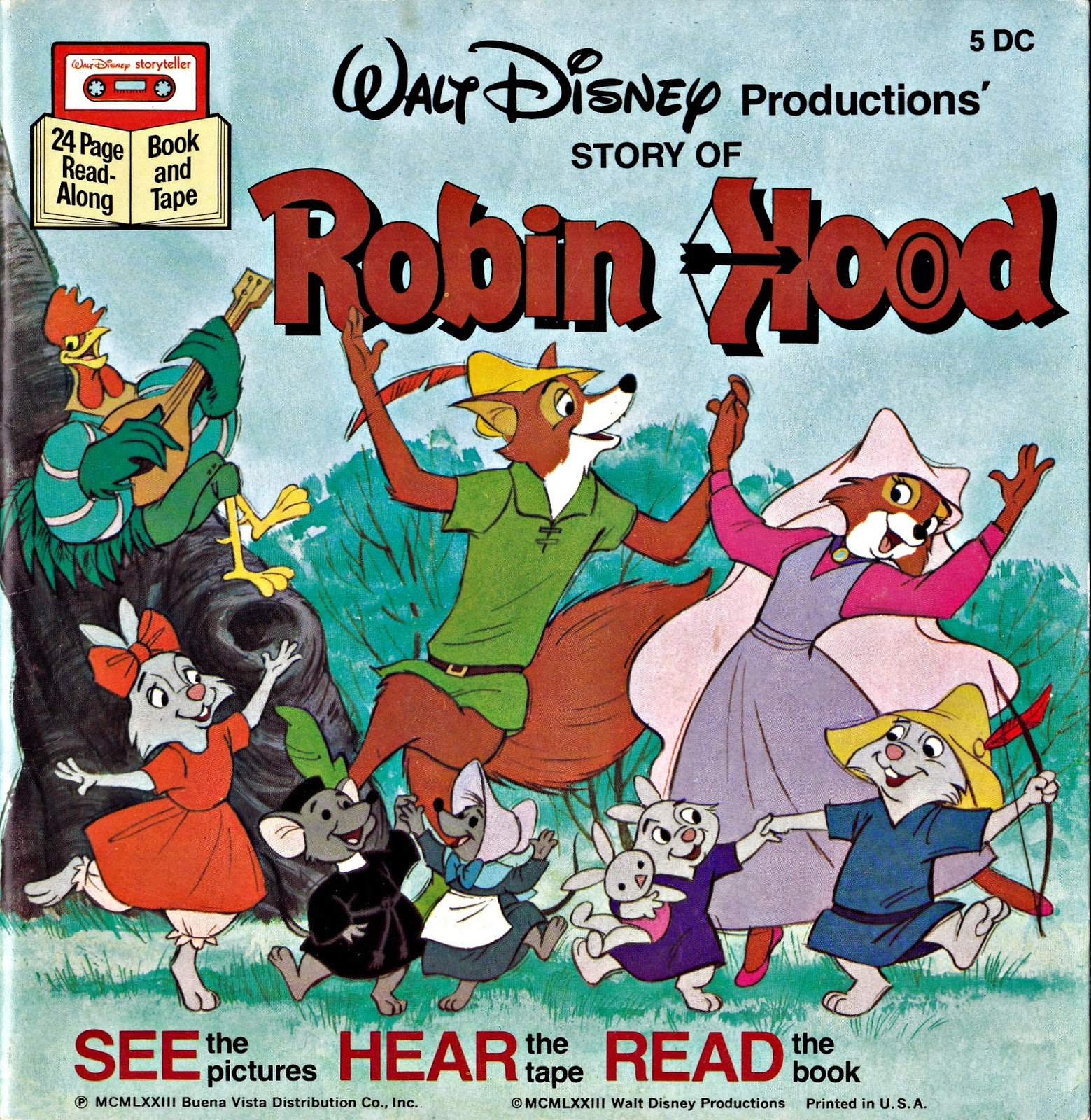 Vintage Books For The Very Young Disney S Robin Hood