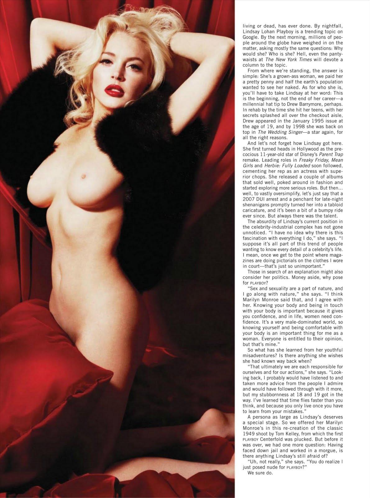 Lindsay lohan nuevas fotos desnuda
