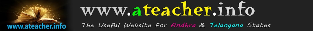Website For Andhra Pradesh&Telanagana Teachers|AP,TS GO's, Orders for teachers-Ateacher.info