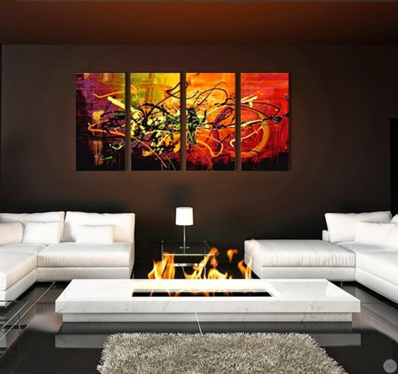 Artwall and co vente tableau design d coration maison for Tableaux modernes colores
