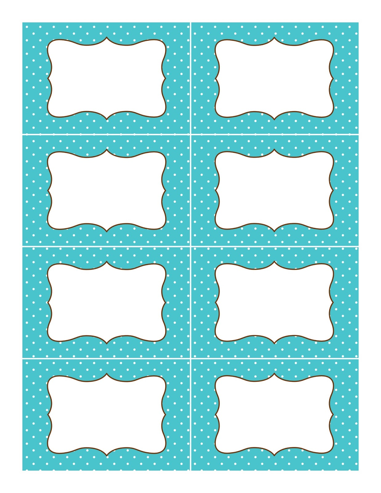 Free printable candy buffet labels template car interior for Z label templates