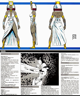 Ficha Comics Isis