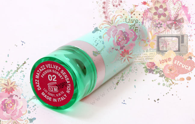 Dazz Matazz Velvet Sensation in Passion Sorbet, Passion Sorbet, Dazz Matazz, Lipstick, Lips, Sexy Lipstick, Fushia Pink Lips, Beauty, Makeup, Beauty Blog, Top beauty blog of Pakistan, Red Alice Rao, redalicerao