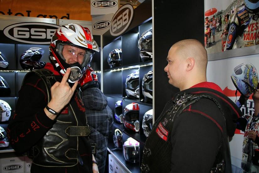 Итальянские шлемы GSB