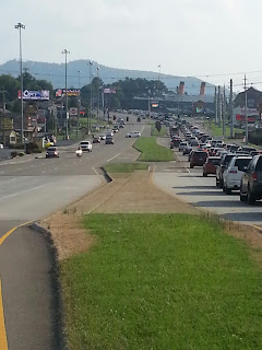 Parkway in Pigeon Forge, TN