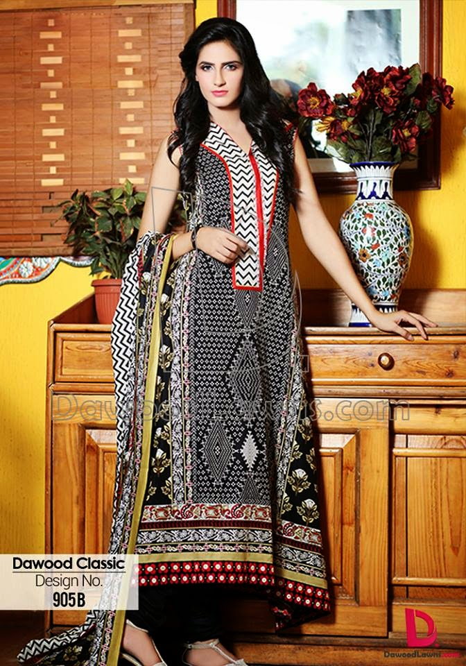 Dawood summer lawn casual dresses