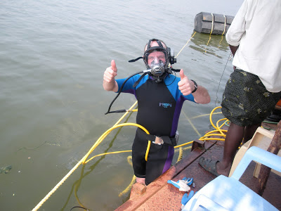 Diamond Dredging Success: good diver's make all the difference