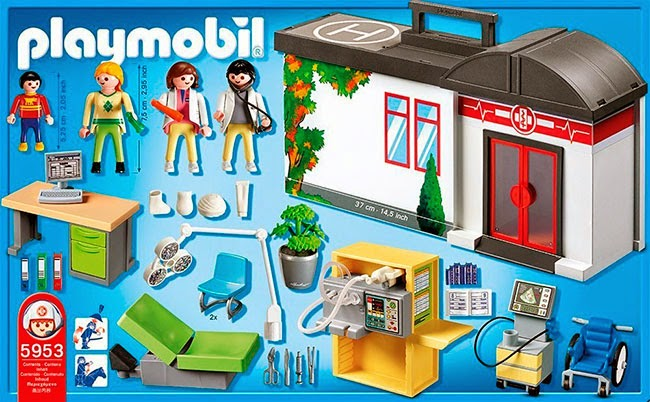 Set Playmobil hospital