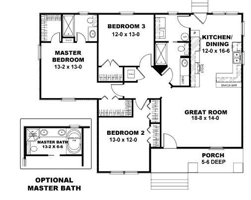 Planos de casas modelos y dise os de casas planos de for Planos para construir una casa de un piso