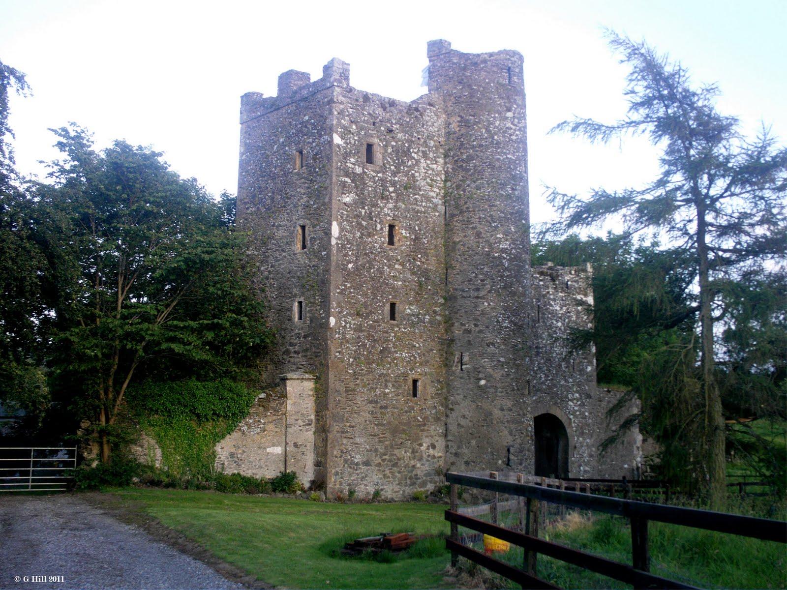 Ireland In Ruins Kilteel Castle Old Church Co Kildare