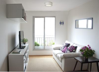 como decorar sua sala pequena sem perder o espaço