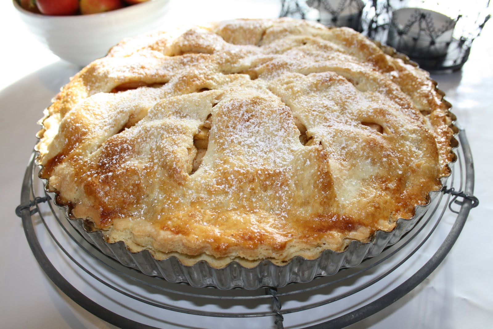 Cinas receptsamling: American apple pie