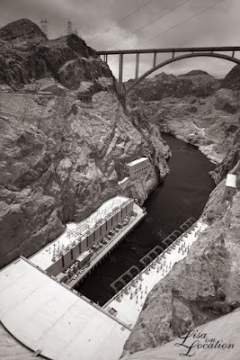 Hoover Dam, infrared, New Braunfels travel photography